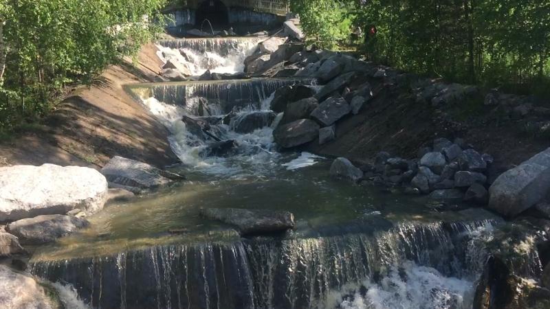 Выход реки Каменки пос. Межевой💦