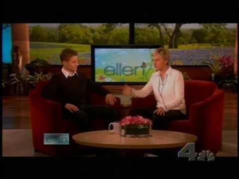 Benjamin Mckenzie on the Ellen Show April 2 2009