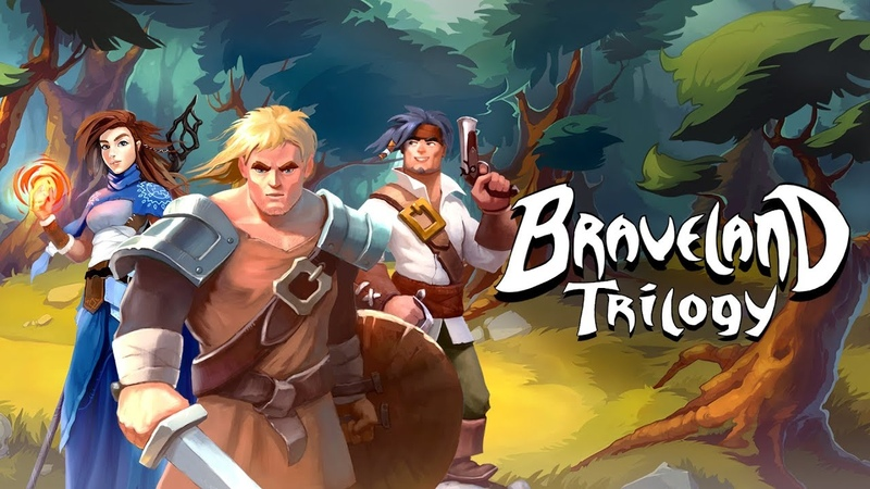 Braveland Trilogy - Nintendo Switch Release Trailer [NOE]
