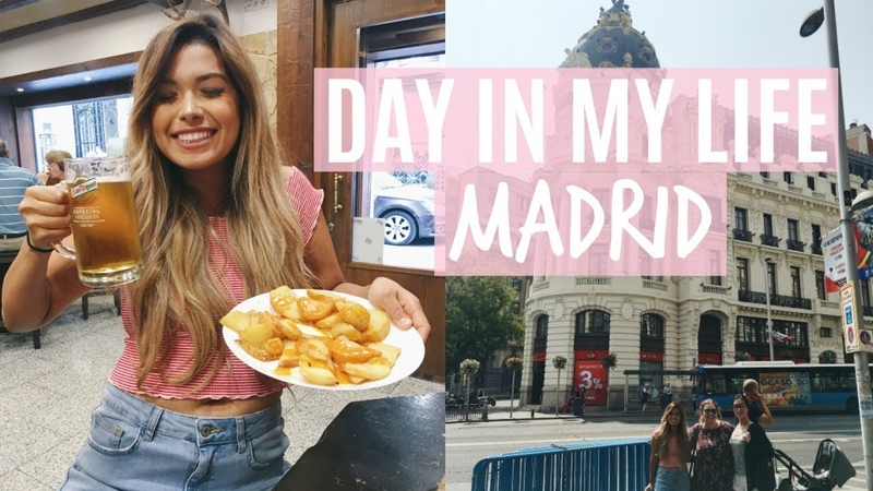 DAY IN MY LIFE in MADRID I Drink Alcohol! | ItsMandarin