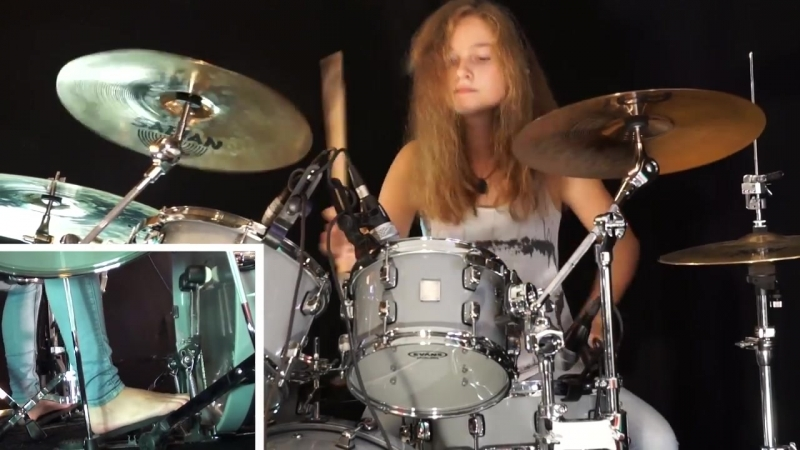 Master Of Puppets (Metallica); drum cover by Sina