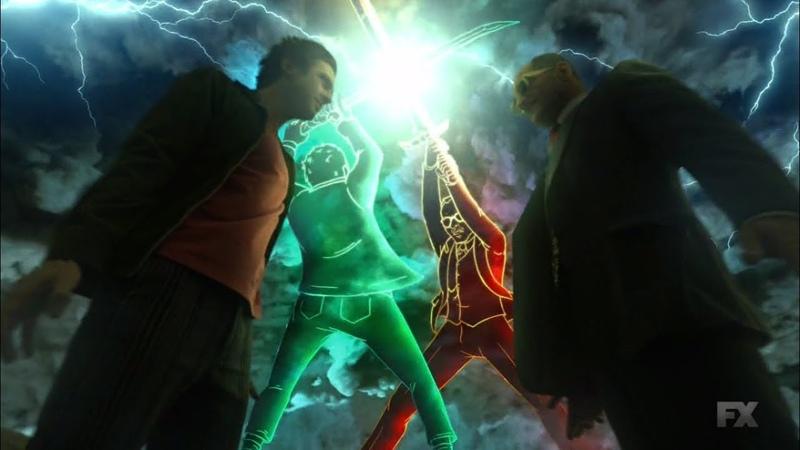 Legion 2x11 David Farouk sings Behind Blue Eyes Scene 1080p