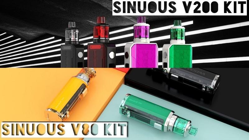 Wismec SINUOUS V80, V200 и Amor NSE обзор homelike,