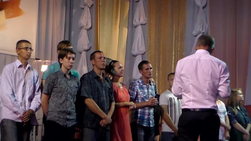 Водное Крещение 30 июля 2016г