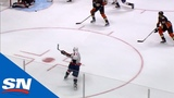 Alex Ovechkin Rips Home Power Play Goal For His 40th Of The Season