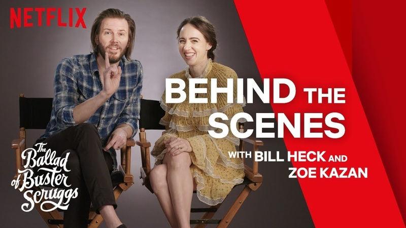 The Ballad of Buster Scruggs | Bill Heck Zoe Kazan Reveal Secrets | Netflix