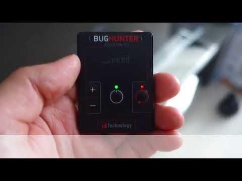 Детектор прослушки BugHunter Micro Сделано в России