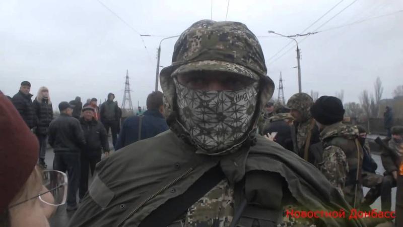 Интервью командира зелёных человечков Славянск 13 04 2014