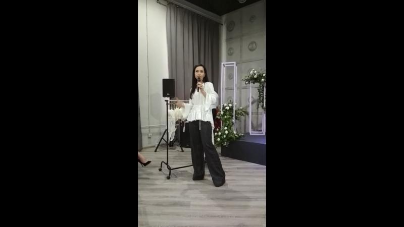 WEDDING SECRETS 2018 Выступление Инны Игнатьевой Ч