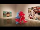 Baisser in Mary Boone, in Glassish Waxish Glitch, Instagram Arthack
