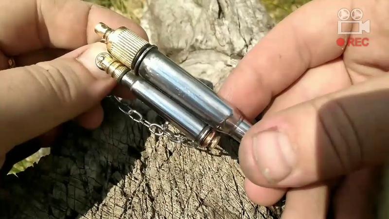 Бензиновая зажигалка из гильзы 7.62