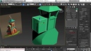 Blocking out the balcony | 3ds Max: Stylized Environment for Animation from LinkedIn Learning