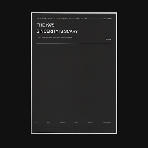 The 1975 альбом Sincerity Is Scary