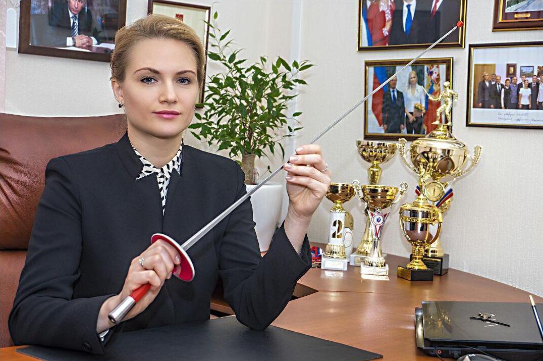 Курских фехтовальщиков наградил исполком Олимпийского комитета России