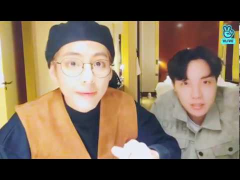 BTS Live : Paris night! 2 Taehyung Jhope 181021 (방탄소년단) 防弾少年団