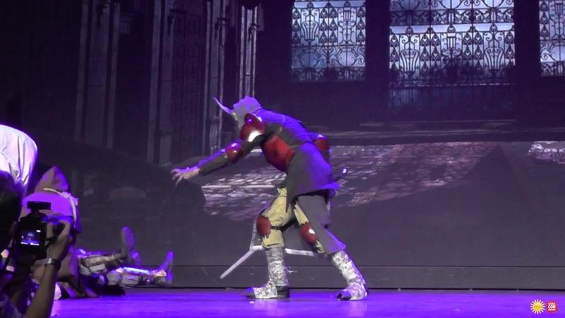 Инквизитор Мортон Брукс, Демон, Монахи-нежить - (Dark Фан дефиле) Comic Con Siberia Halloween