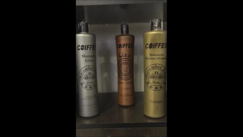 Дисциплинирование волос Кати на составах COIFFER