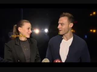 Serenay Sarıkaya ve Kerem Bürsin Ghost Müzikalinden UçanKuş TV Röportajının Tamamı!
