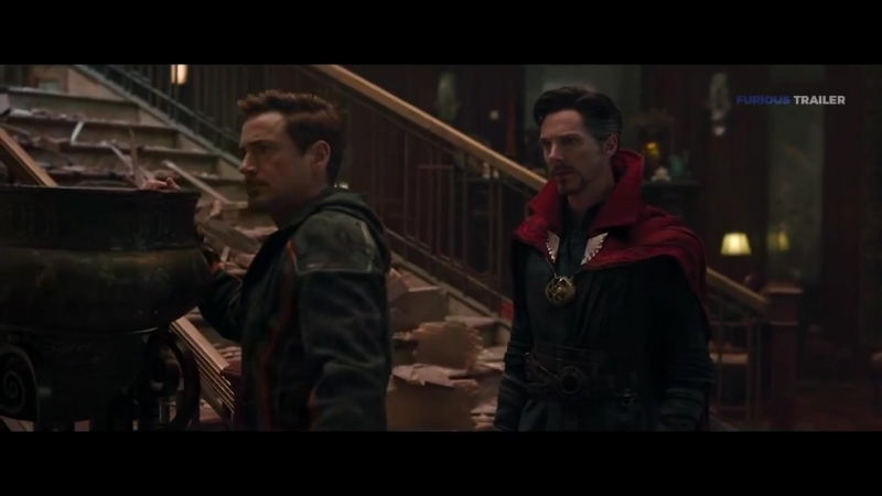 Брюс раскрывает план Таноса