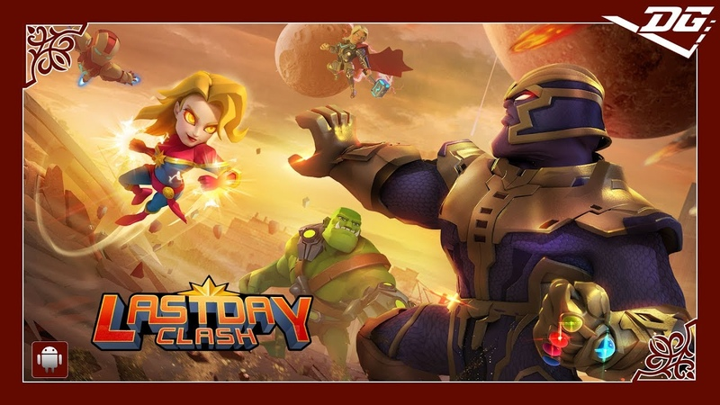 Lastday Clash Heroes Battles Android Gaming Video