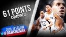 DeMar DeRozan, Rudy Gay LaMarcus Aldridge 61 Pts 2018.12.17 Spurs vs 76ers FreeDawkins