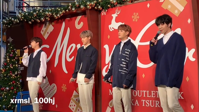 [FANCAM] 181118 백퍼센트(100%) - Never say goodbye @ Osaka - Mitsui Outlet Park Osaka Tsurumi