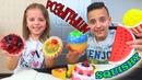 СКВИШИ и Обычная Еда РОЗЫГРЫШИ для БРАТА и СЕСТРЫ SQUISHY FOOD Funny Video