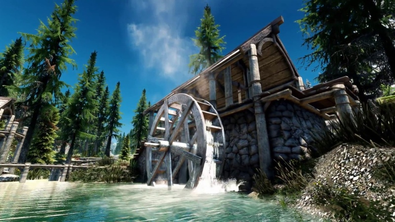 Skyrim SE Ultra Modded photorealistic Next Gen Graphic Sin Xtreme Realism ENB