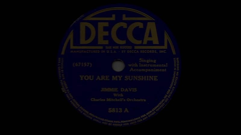 Jimmie Davis - You Are My Sunshine {rus sub}  fsg Mad Raccoon 