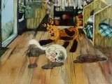 Как кошечка и собачка мыли пол/Як песик і кошеня мили підлогу. 1977