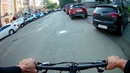 Afterwork ride for shopping. Russia, Kirov city 20.07.2018