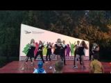 Танец вожатых 3 смена 2018