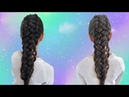 Trenza Francesa con aros o argollas /French Loop Braid