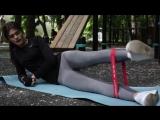 20 лучших упражнений с резиновыми мини-петлями для фитнес тренировок.