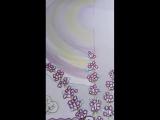 платок лаванда ч2