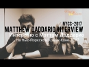 Interview with Matthew Daddario on the NYCC 2017 rus sub Отрезок из интервью Нью Йоркского Комик Кона 2017 рус суб