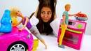 Видео с куклами - Барби и Кен – Чья работа легче
