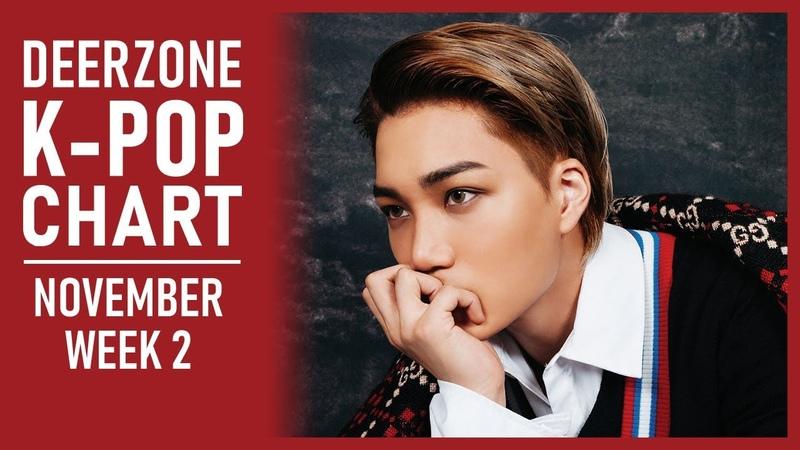 DEERZONE K-POP CHART | NOVEMBER 2018 | WEEK 2