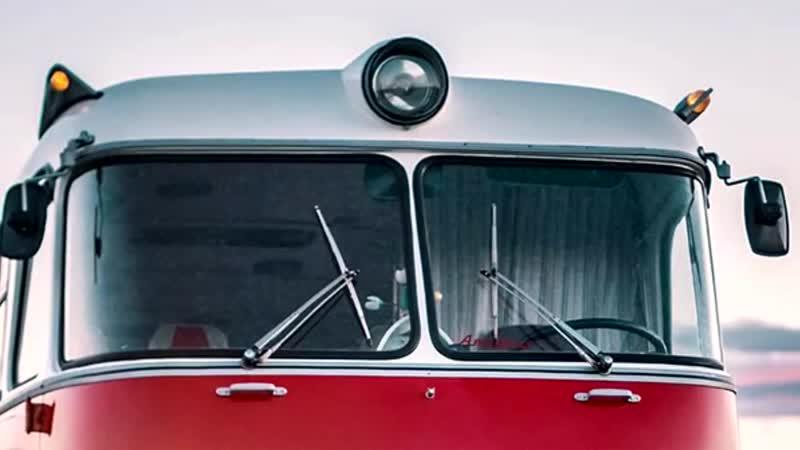 Легендарный автобус Ikarus 55 Lux «Сигара»