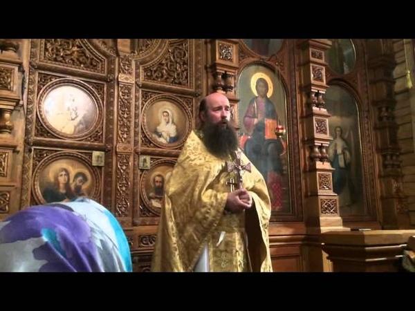 Проповедь иеромонаха Кирилла (Зинковского) на память великомученика и целителя Пантелеимона