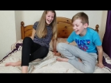sister brother tickle challenge