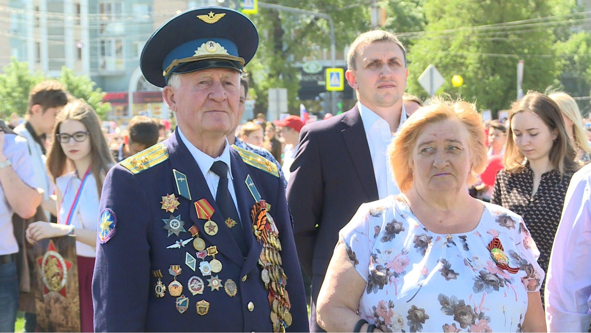 Митинг и парад Победы в Липецке впервые прошли на площади Победы — Изображение 1