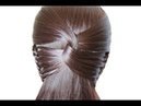Hairstyle for long hair ♛ Simple braiding from hair