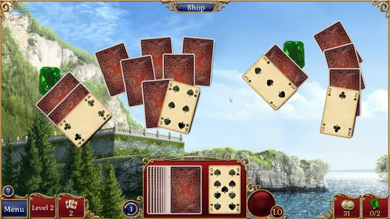 Jewel Match Solitaire 2 Collectors Edition (Геймплей)