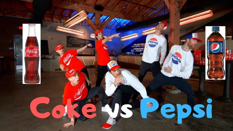 Coca Cola vs Pepsi Dance Battle