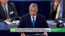 Viktor Orban assume sa politique anti-migrants au parlement européen