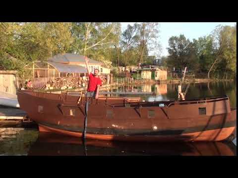 Косинский Морской Клуб, спуск на воду бригантины, клич пирата.