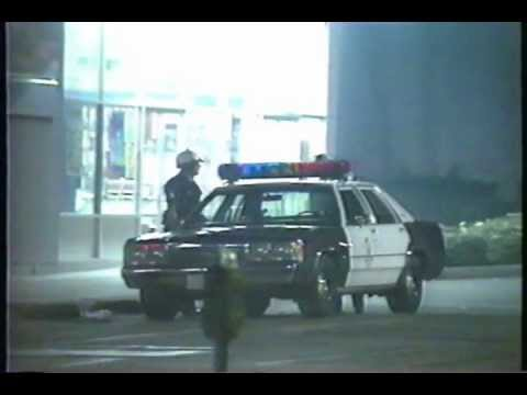Los Angeles Riots 1992 News Footage 5 Wacko with a Gun