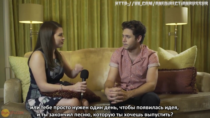 MYXclusive Interview with Niall Horan [RUS SUB]