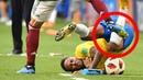 Schande für den Fussball Neymar wird heftig beleidigt